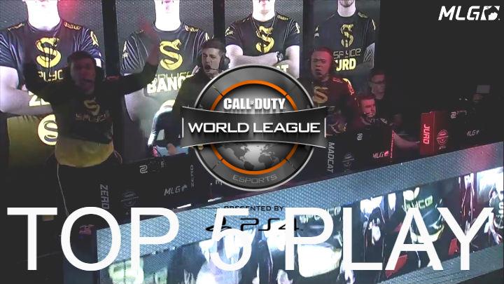 CoD:IW:公式大会「CWL Global Pro League Stage 1」プレイオフのTOP5プレイ!