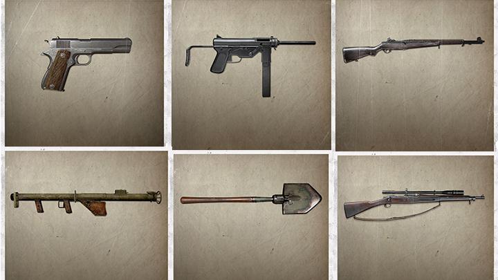 CoD:WWII: 公式サイトに10種の武器リスト登場、ARやSMG、LMG、SR、近接武器など