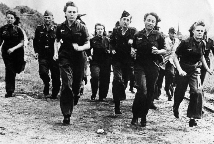 CoDWWII 女性兵士
