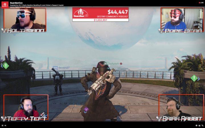Destiny: 有名配信者達のチャリティ募金配信マラソン、昨年の5,000万円を上回る1億円の募金集めに成功
