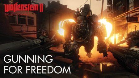 ナチスFPS『WolfensteinII: The New Colossus』