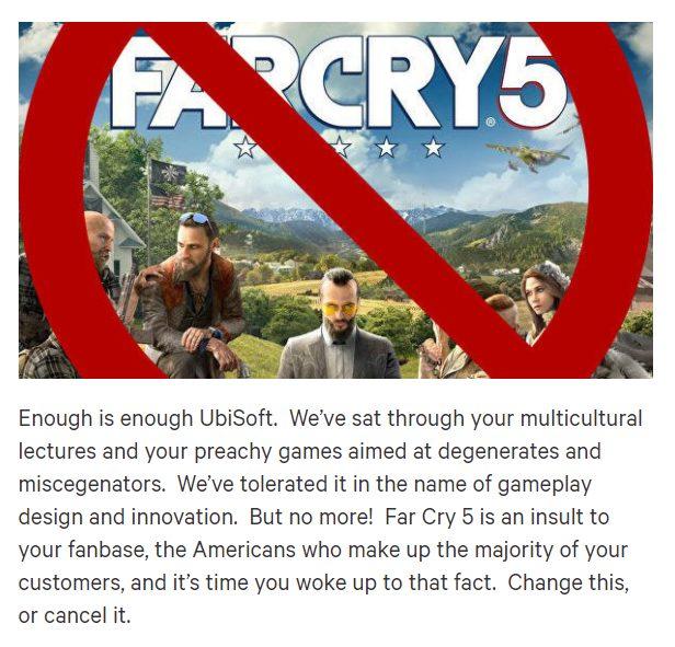 farcry5 発売中止署名