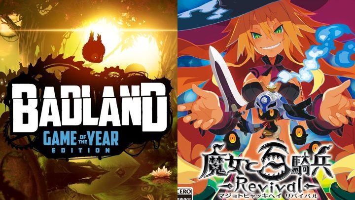 PS Plus: 6月の無料コンテンツ発表、ゲームオブザイヤータイトル『Badland』や『魔女と百騎兵 Revival』など