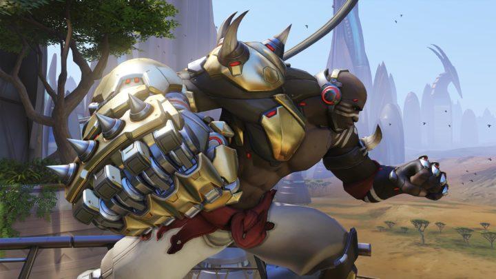 オーバーウォッチ: 新ヒーロー「ドゥームフィスト」、強烈な攻撃とまるで格闘ゲームのようで楽しいプレイ映像公開
