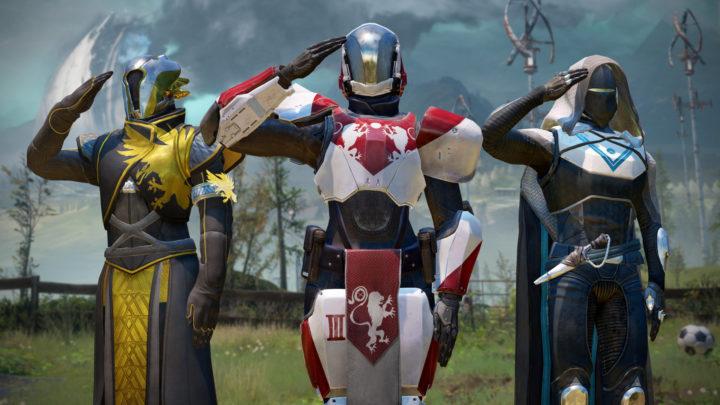 Destiny 2 感情表現「敬礼」