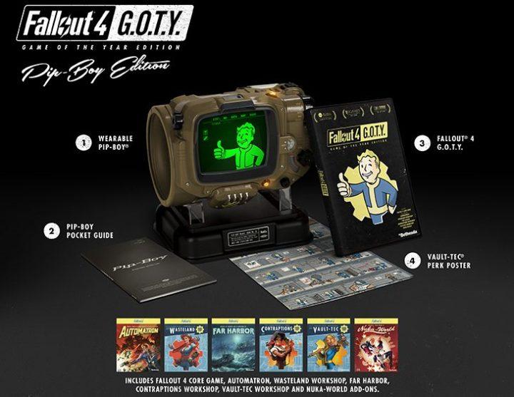 Fallout4 GOTY Pipboy紹介用画像