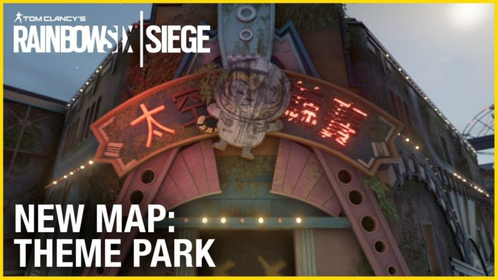 レインボーシックス シージ:新マップ「Theme Park」のティザー映像公開、ジェットコースターで遊ぶタチャンカ卿の姿も