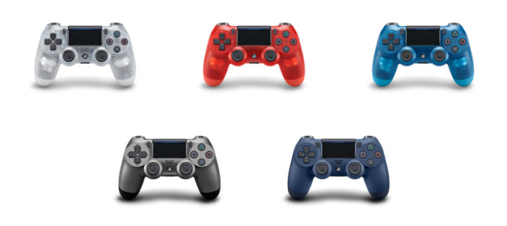 PS4:ワイヤレスコントローラー「DUALSHOCK 4」に新色5色が一挙登場、11月3日発売