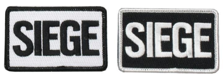 レインボーシックス シージ SIEGEロゴパッチ