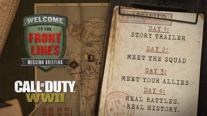 CoD:WWII:新トレーラーや新システム「分隊」を含むキャンペーン情報を4日連続公開、9月18日より