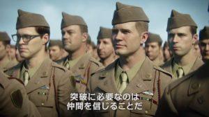 CoD:WWII:キャンペーンに登場する4人のキャラクターの紹介トレーラー公開(日本語)、SHGのドキュメンタリー動画も