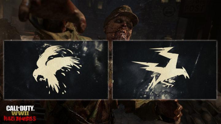 CoD:WWII:謎の鳥アイコン2種が公開、ゾンビモードのプレステージ?Perk?
