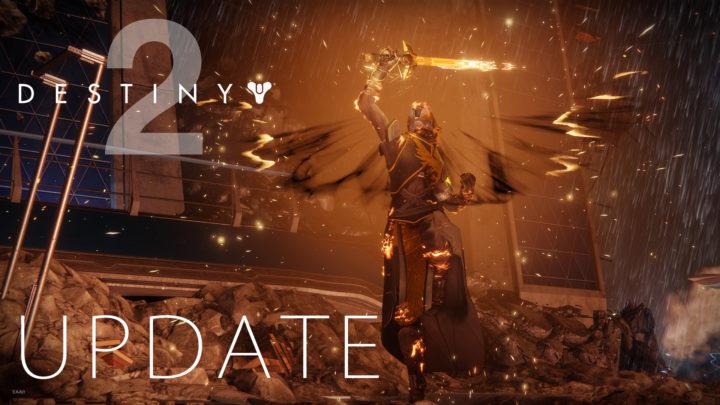 Destiny 2:アップデート1.1.0配信、アクティビティの報酬・推奨パワーの調整や大量のバグ修正など