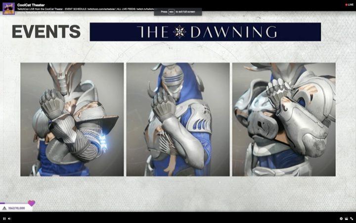 Destiny 2: シーズン制度の発表まとめ、1年目は4シーズンに分かれ各シーズン毎に大幅アップデートあり、「暁旦」イベントが復活