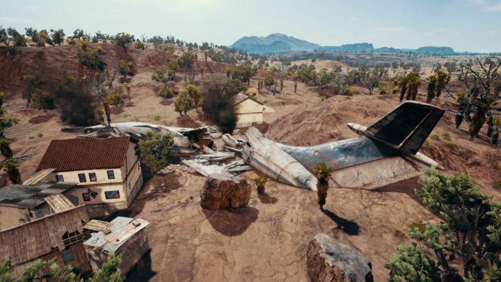 PUBG: 新マップ「砂漠」のスクリーンショット公開、壁登り要素の新情報も