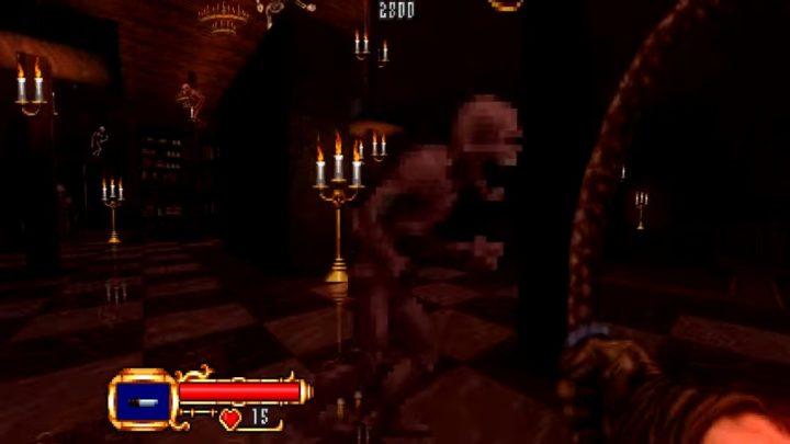 往年の名作『悪魔城ドラキュラ』がファンの手によりFPSゲームに