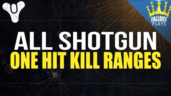 Destiny 2: 全ショットガンの確殺距離比較映像、隠れた強武器発見(レジェンダリーとエキゾチック含む)