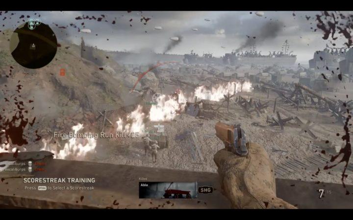 CoD:WWII: スコアストリーク全15種の使用動画を紹介、司令部で練習可能