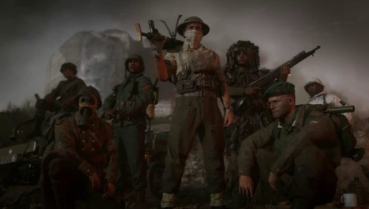 CoD:WWII: マルチプレイヤーサーバーがオンラインに