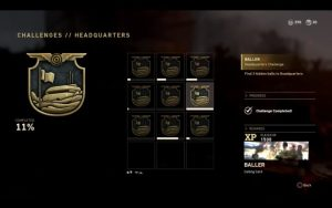 CoD:WWII: 司令部のイースタエッグチャレンジ「Gridironボール」攻略、1,500XPとコーリングカードが入手可能