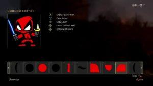 CoD:WWII: キュートでクールなエンブレムを作り出すチュートリアル動画