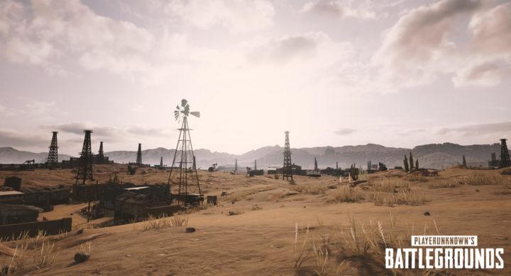 PUBG 砂漠 5