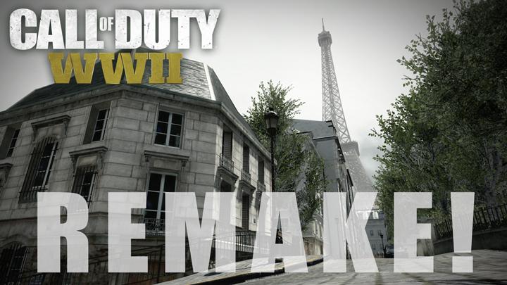 """CoD:WWII:リメイクされるマップ""""Resistance""""を振り返ろう。実在の街と「完全に一致」したことでも話題に"""