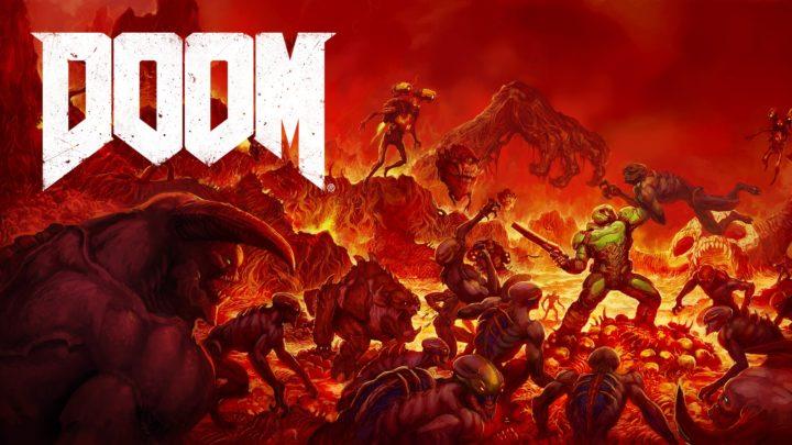 Nintendo Switch版『DOOM』が2018年3月1日発売、携帯機でハイスピードゴアFPSをプレイ