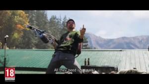 Far Cry 5: プレイヤーと共に戦うレジスタンスにスポットを当てたトレーラーが公開、トラやクマなどの猛獣も味方に