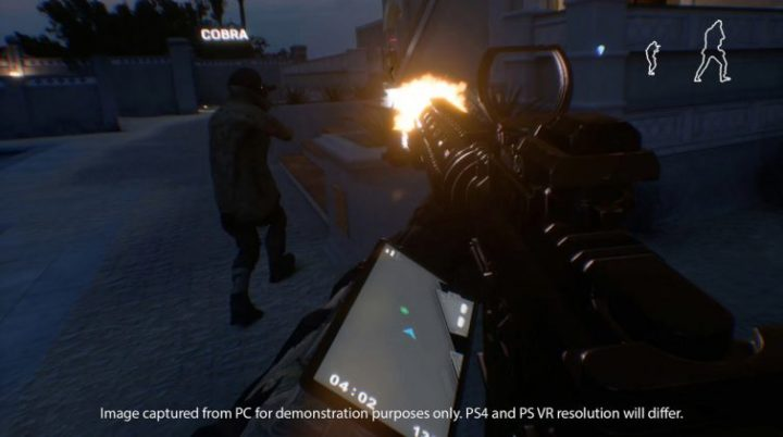 PS VR用FPS『Firewall Zero Hour』が2018年発売、4vs4の競技的FPSでDualshock 4対応