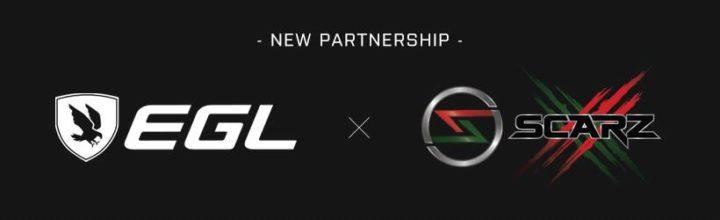 プロeスポーツチーム「SCARZ」とゲーマー向けアパレルブランド「EGL」がパートナーシップ契約締結