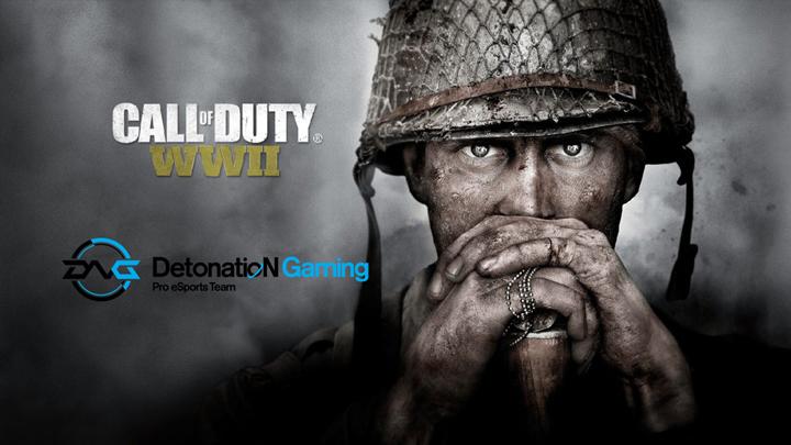 CoD:WWII: プロチームDetonatioN Gamingの『Call of Duty: WWⅡ』部門メンバー正式発表 「世界を目指す」