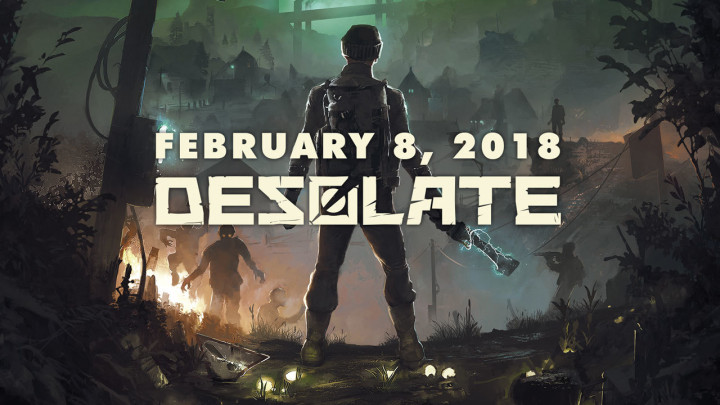 4人協力型ホラーサバイバルゲーム『DESOLATE』の早期アクセス開始(日本語対応)