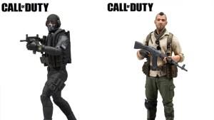 CoD:MW:伝説のヒーロー「ソープ」と「GHOST」のフィギュアが近日発売