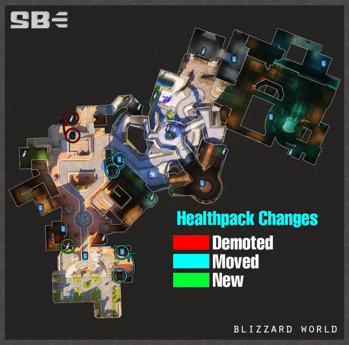 blizzworld healthpack