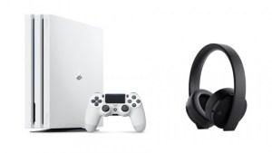 「プレイステーション 4 Pro」(PS4®Pro) 「グレイシャー・ホワイト」 2018年3月8日(木)より数量限定発売 「ワイヤレスサラウンドヘッドセット」最新モデルも同日発売