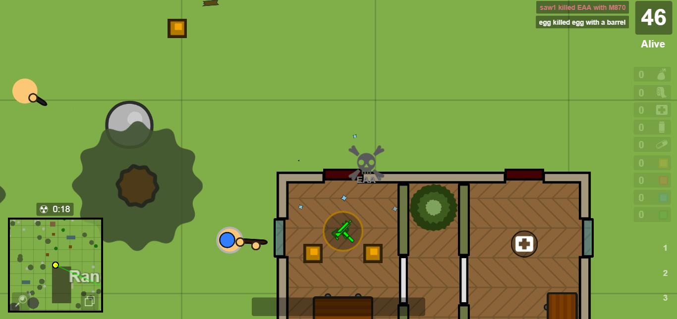 SURVIV IO – 2d battle Royale