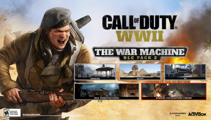 CoD:WWII:DLC第2弾「The War Machine」、Xbox One/PCへ5月10日配信