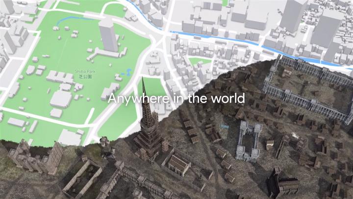 夢広がる:Googleマップのデータでゲーム製作可能に