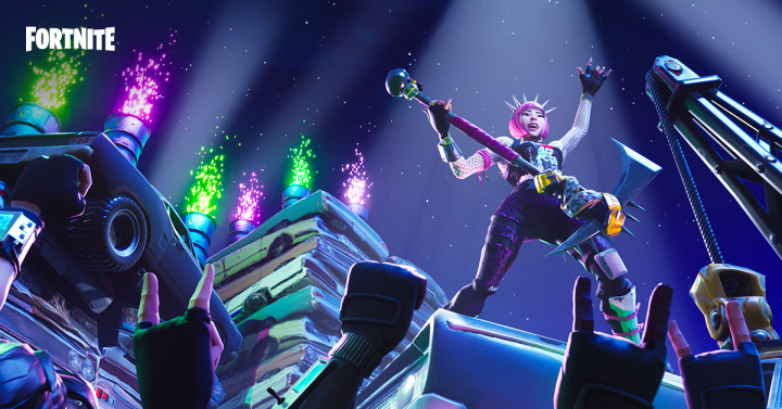fortnite party royale フォートナイト』 パーティロイヤル E3 2018
