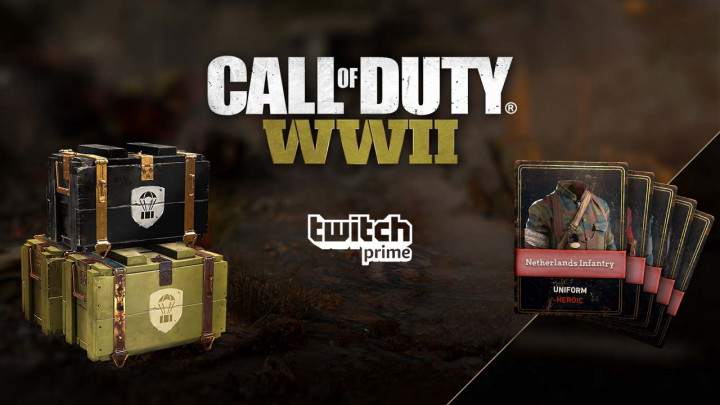 CoD:WWII:Twitch Prime会員向け特典第4弾配布、重複なしのヒロイックユニフォーム確定