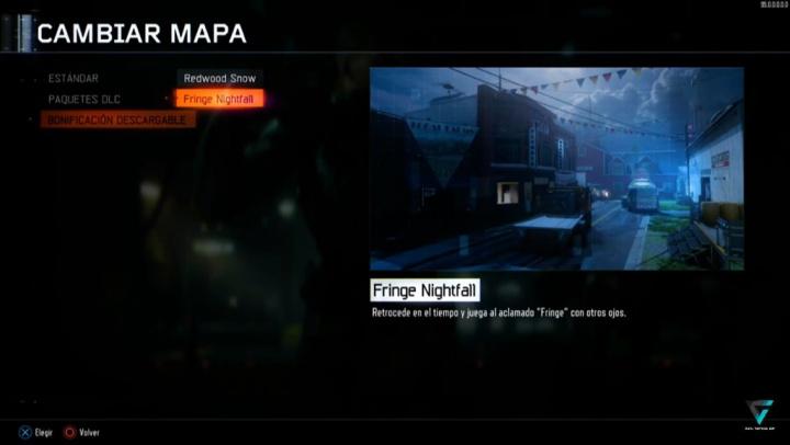 CoD:BO3:夜景マップ「Fringe Nightfall」登場か