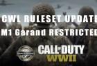 CoD:WWII:CWLルール改定で「M1ガーランド」禁止に