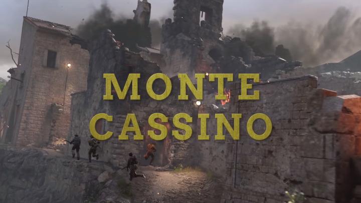 CoD:WWII:戦火の村を舞台とした新マップ「Monte Cassino」のプレビュー映像