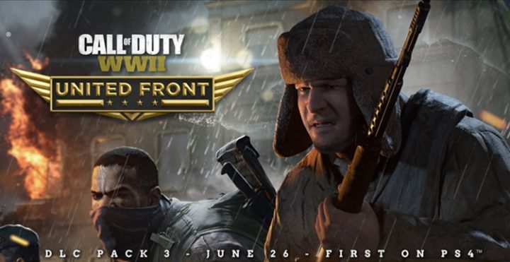 CoD:WWII:第3弾DLC「United Front」