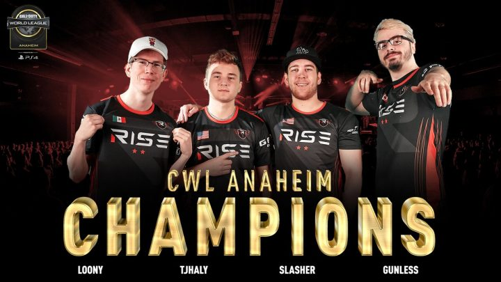 CWL Anaheim champions