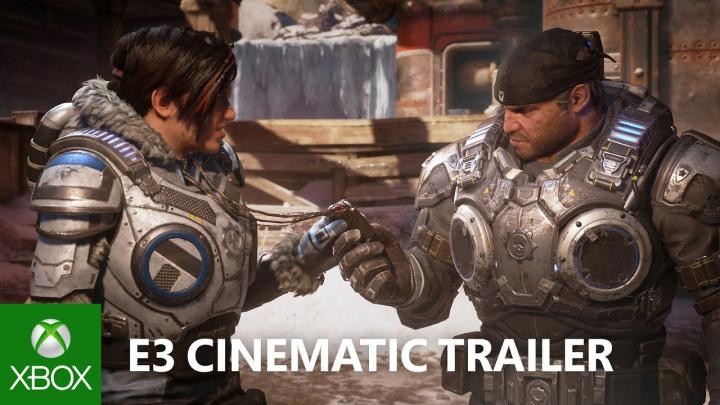 『Gears 5』アナウンストレーラー公開、4K HDRに対応し2019年発売 [E3 2018]