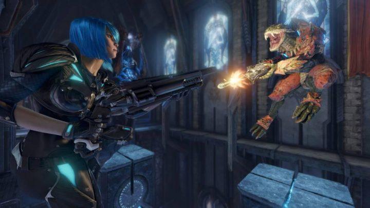 Quake Champions:期間限定無料プレイ開催中、参加すれば永久無料