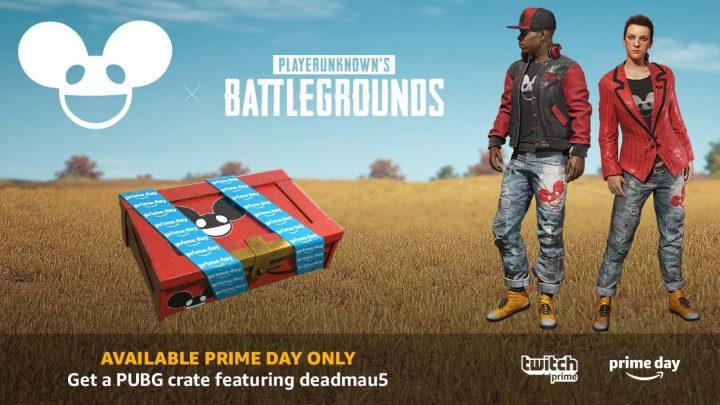 "PUBG:Twitch Primeメンバー限定スキン""deadmau5 Crate""が配信、北米Amazon Prime Dayの24時間限定"