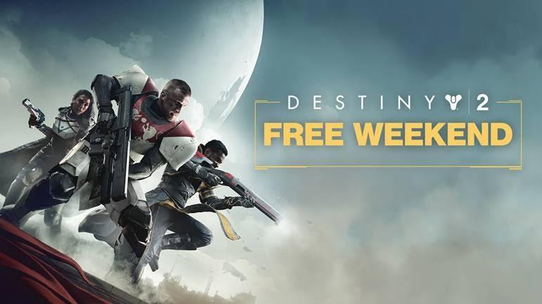 Destiny 2:フリーウィークエンド開催、7月7日~ 9日まで(PC)
